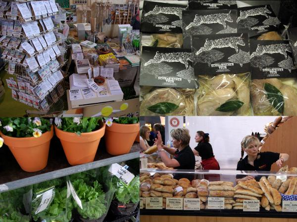 Impressionen von der Slow Food Messe